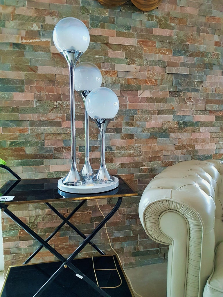 Midcentury Reggiani by table or floor lamp, Italy, 1965. Very good vintage condition.