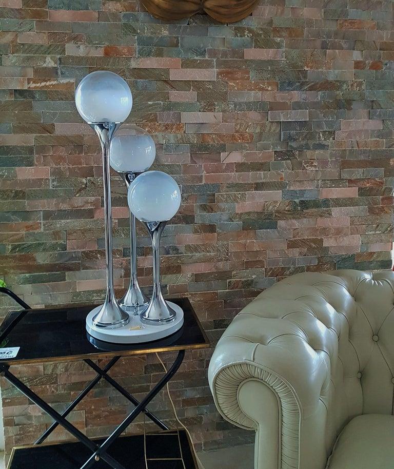 Mid-Century Modern Midcentury Reggiani Table Lamp, Italy, 1965 For Sale