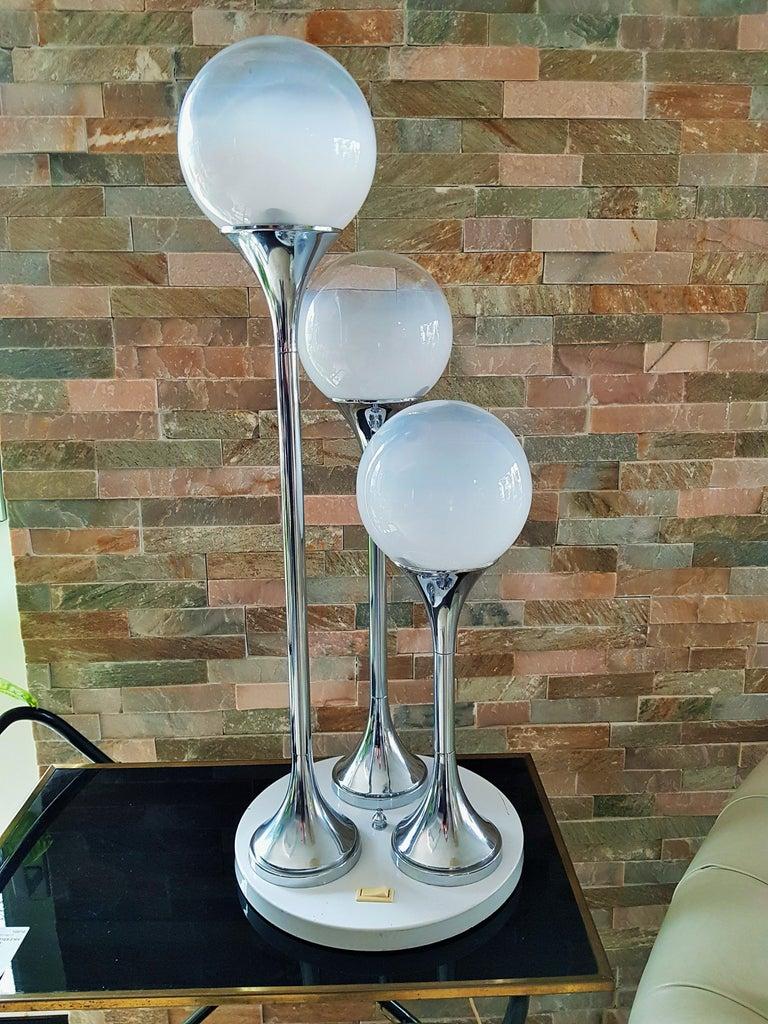 Italian Midcentury Reggiani Table Lamp, Italy, 1965 For Sale