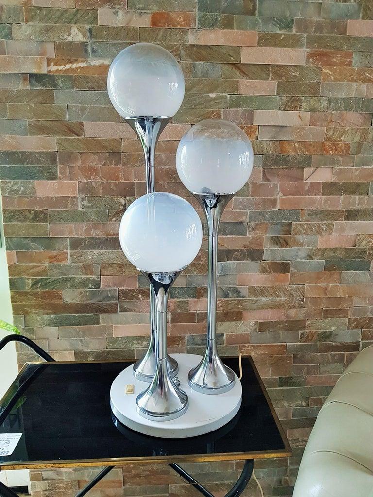 Midcentury Reggiani Table Lamp, Italy, 1965 In Good Condition For Sale In Saarbruecken, DE