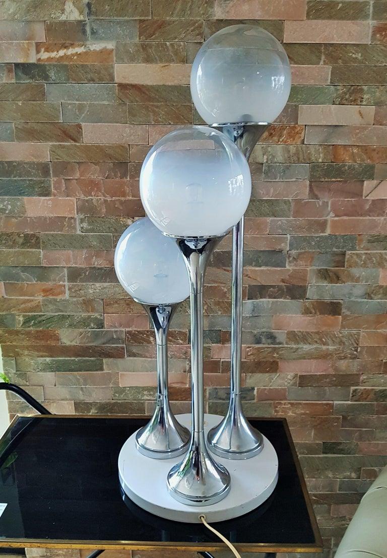 Mid-20th Century Midcentury Reggiani Table Lamp, Italy, 1965 For Sale