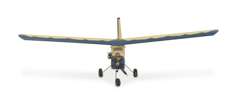 Mid-Century Modern Mid-Century Remote Control Model Airplane For Sale