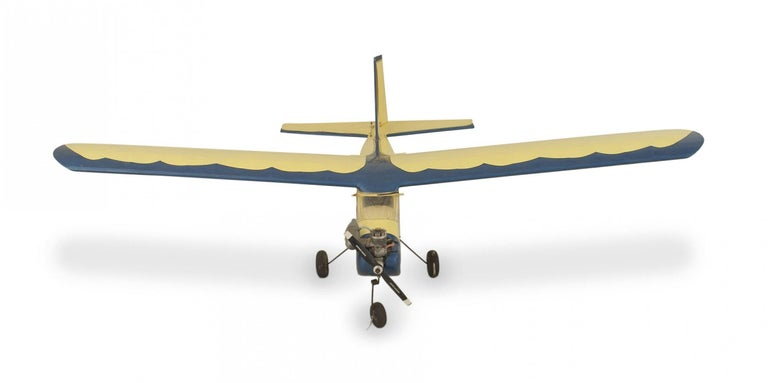 Mid-Century Remote Control Model Airplane In Good Condition For Sale In New York, NY