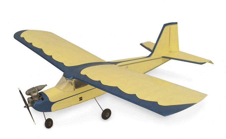 20th Century Mid-Century Remote Control Model Airplane For Sale