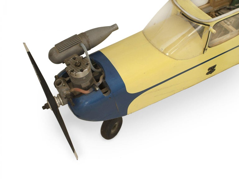 Paper Mid-Century Remote Control Model Airplane For Sale