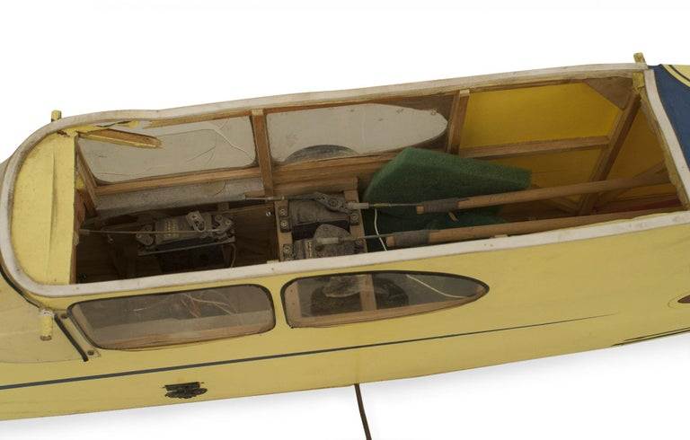 Mid-Century Remote Control Model Airplane For Sale 1