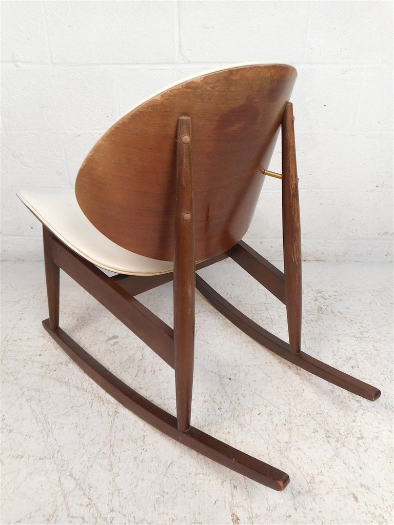 Mid-Century Modern Midcentury Rocking Chair by Kodawood Furniture For Sale