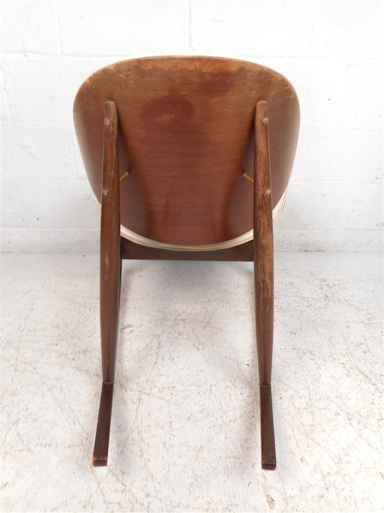 American Midcentury Rocking Chair by Kodawood Furniture For Sale