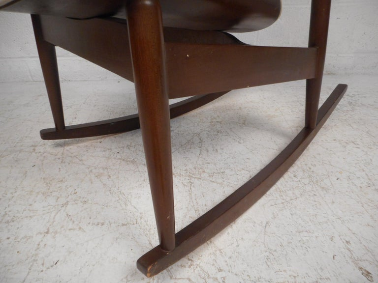 Midcentury Rocking Chair by Kodawood Furniture For Sale 2