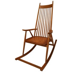 Strange Midcentury Rocking Chair Made In Yugoslavia For Sale At 1Stdibs Ocoug Best Dining Table And Chair Ideas Images Ocougorg
