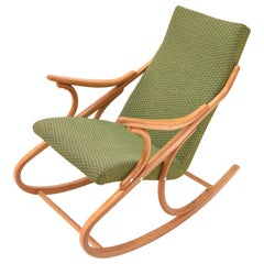 Mid-Century Rocking Chair, by TON, 1970's