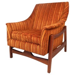 Midcentury Rocking Lounge Chair by Paoli Chair Co.