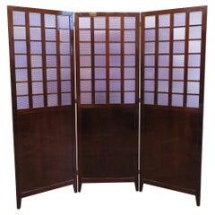 Mid Century Room Divider Folding Screen