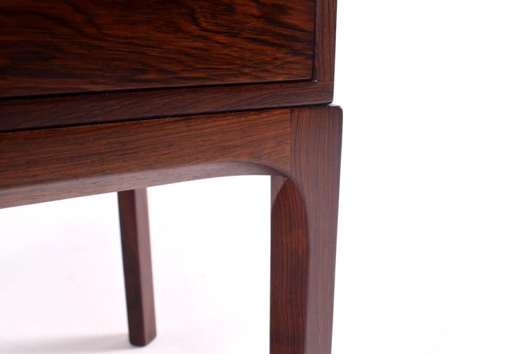 Mid-20th Century Midcentury Rosewood Bedside Table by Kai Kristiansen, 1950s For Sale