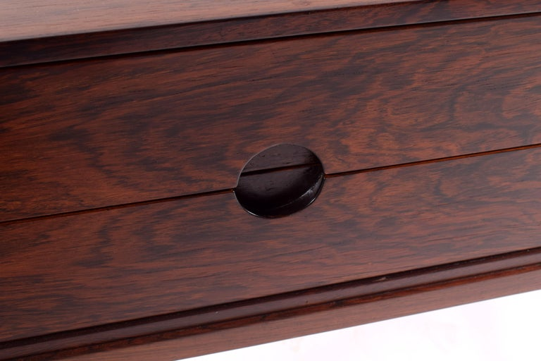 Midcentury Rosewood Bedside Table by Kai Kristiansen, 1950s For Sale 2