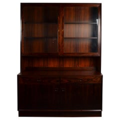 Midcentury Rosewood Cabinet by Brouer