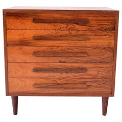 Midcentury Rosewood Chest of Drawers