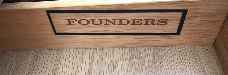 Mid Century Rosewood Cocktail Bar by Jack Cartwright for Founders Furniture Co. For Sale 5
