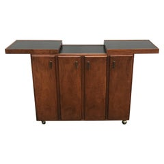 Mid Century Rosewood Cocktail Bar by Jack Cartwright for Founders Furniture Co.