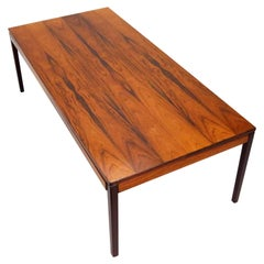 Mid-Century Rosewood Coffee Table by P.S. Heggen of Norway