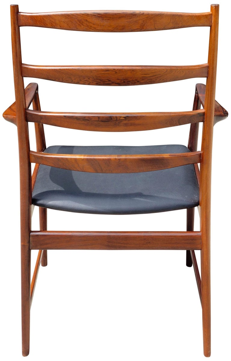 Midcentury Rosewood Dining Chairs Torbjørn Afdal for Vamo 3