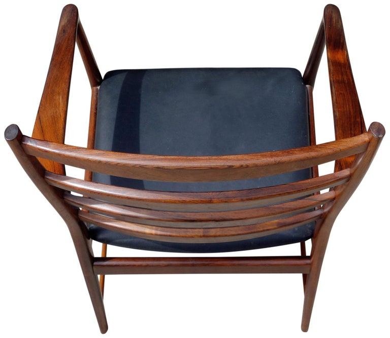 Midcentury Rosewood Dining Chairs Torbjørn Afdal for Vamo 4