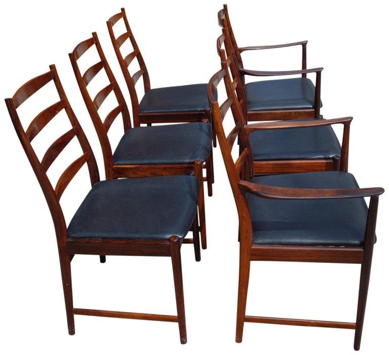 Scandinavian Modern Midcentury Rosewood Dining Chairs Torbjørn Afdal for Vamo
