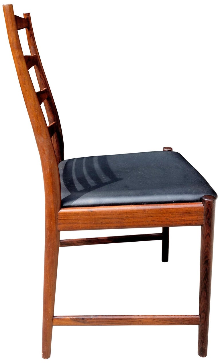 20th Century Midcentury Rosewood Dining Chairs Torbjørn Afdal for Vamo