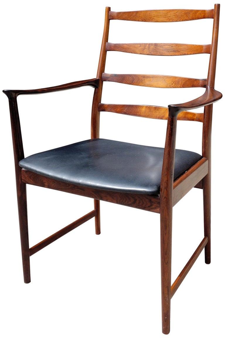 Midcentury Rosewood Dining Chairs Torbjørn Afdal for Vamo 1