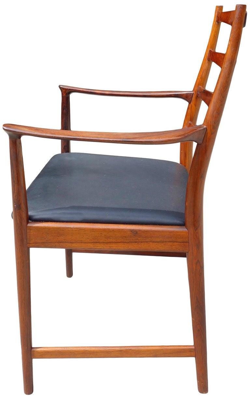 Midcentury Rosewood Dining Chairs Torbjørn Afdal for Vamo 2