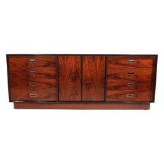Mid Century Rosewood Dresser Made in Sweden