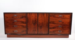 Mid Century Rosewood Dresser Made in Sweden