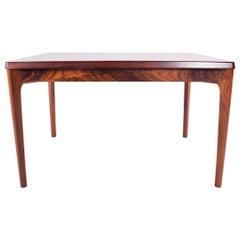 Midcentury Rosewood Extendable Dining Table by Henning Kjaerulf for Velje
