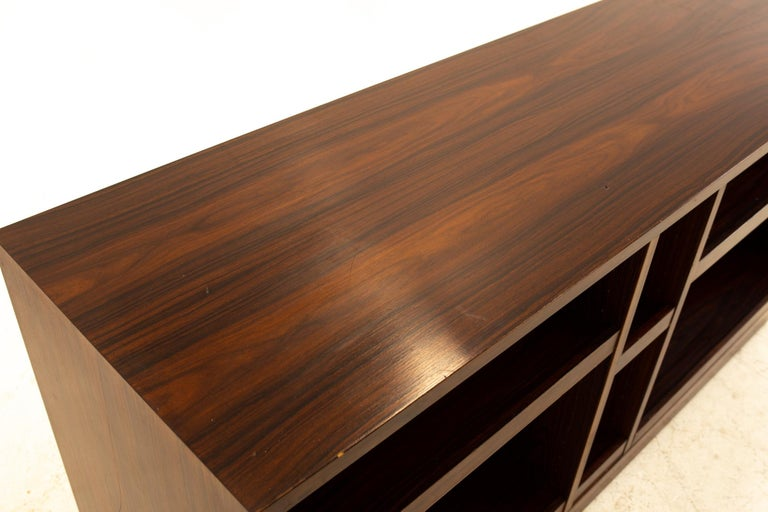 Midcentury Rosewood Media Cabinet Credenza For Sale 1