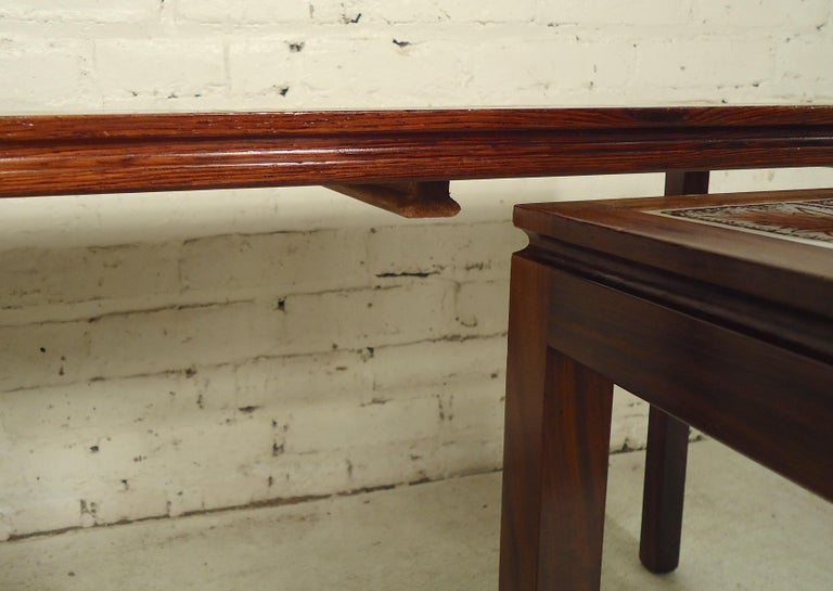 Mid-20th Century Midcentury Rosewood Nesting Tables For Sale