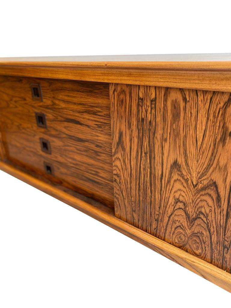 Mid-Century Modern Midcentury Rosewood Sideboard by H. W. Klein for Bramin For Sale