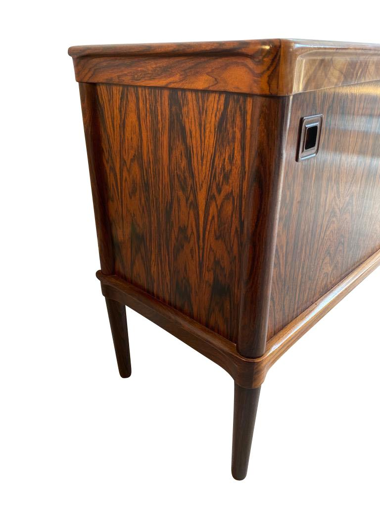 20th Century Midcentury Rosewood Sideboard by H. W. Klein for Bramin For Sale