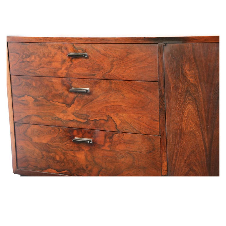Mid-Century Modern Midcentury Rosewood Sideboard Milo Baughman Style For Sale