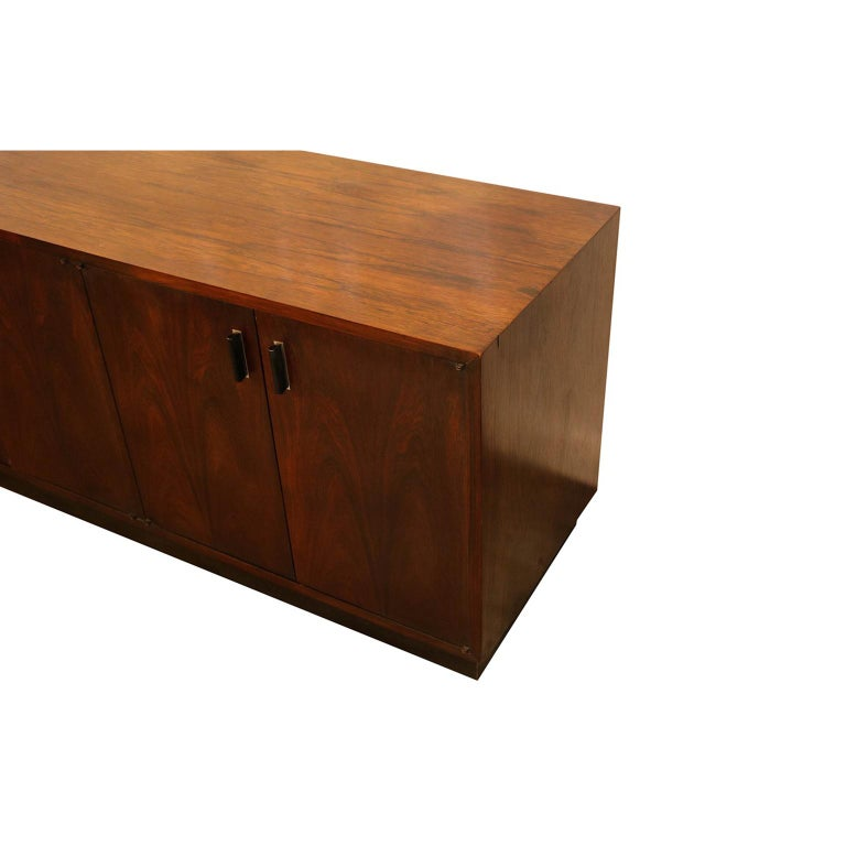 Mid-20th Century Midcentury Rosewood Sideboard Milo Baughman Style For Sale