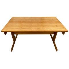 Mid Century rosewood split folding table desk brazilian by karl heinz Bergmiller