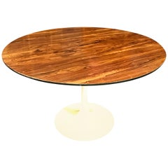 Midcentury Rosewood Tulip Dining Table by Maurice Burke for Arkana