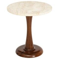 Mid-Century Round Coffee Table, circa 1950
