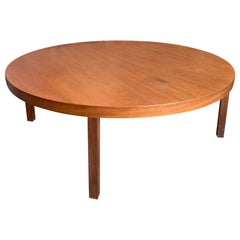 Midcentury Round Coffee Table