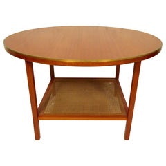 Midcentury Round Side Table
