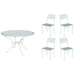 Midcentury Russell Woodard Steel Outdoor/Patio Furniture