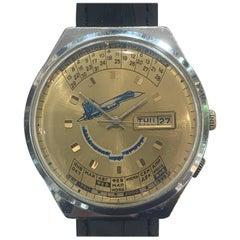 "Mid Century Russian Watch by ""Raketa"" or  ""Rocket Watch Company""."