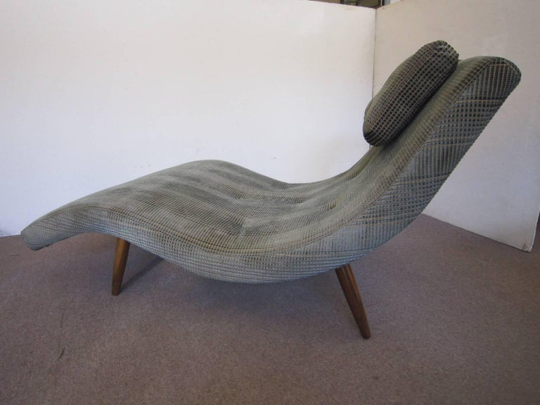 "Midcentury ""S"" Curve Newly Upholstered Two Person Lounge ..."