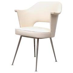Mid-Century Saarinen Style Arm Chair