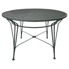 Mid Century Salterini Radar Patio Dining Table