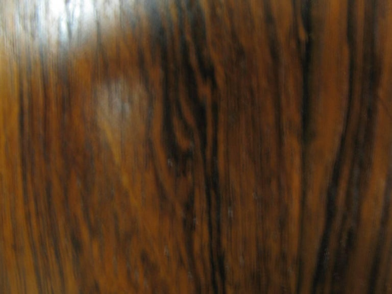 Mid-20th Century Midcentury Scandanavian Modern Rosewood Dining Room Table with Two Leaves For Sale